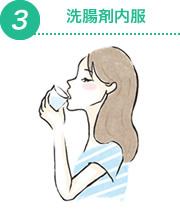 洗腸剤内服