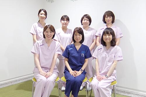 医師を含め全て女性スタッフが対応